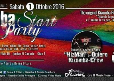 01 Ottobre – KIZOMBA START PARTY
