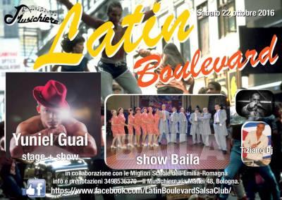22 Ottobre – Latin Boulevard