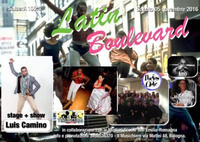 5 Novembre – Latin Boulevard