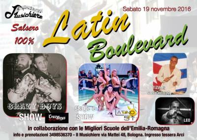 19 Novembre – Latin Boulevard