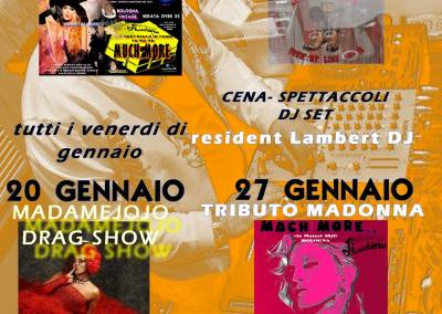 13 Gennaio – MUCH MORE SERATA COUNTRY