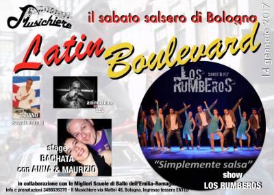 14 Gennaio – Latin Boulevard